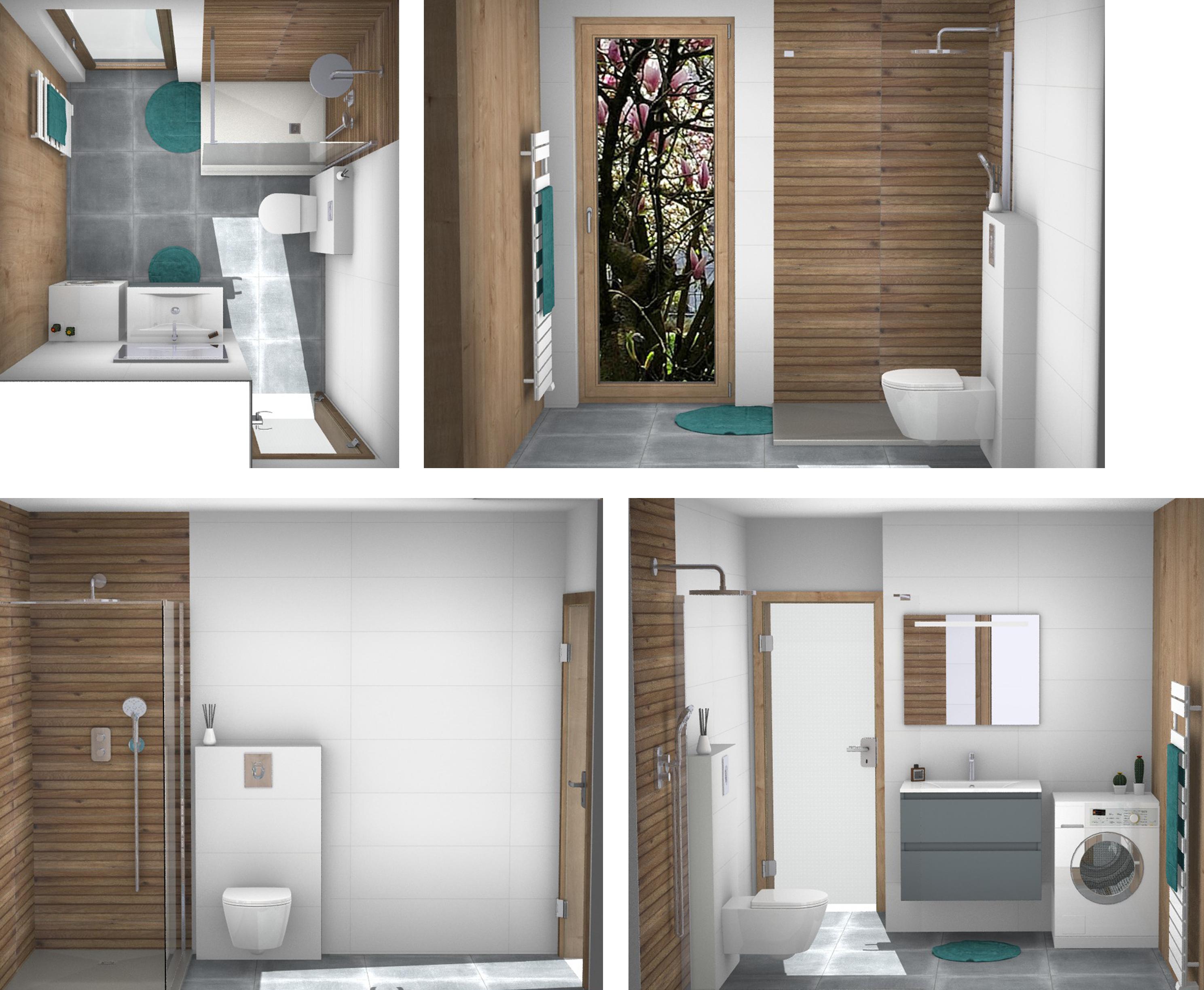 Salle de bain D'johr ÜTE avec pack palais