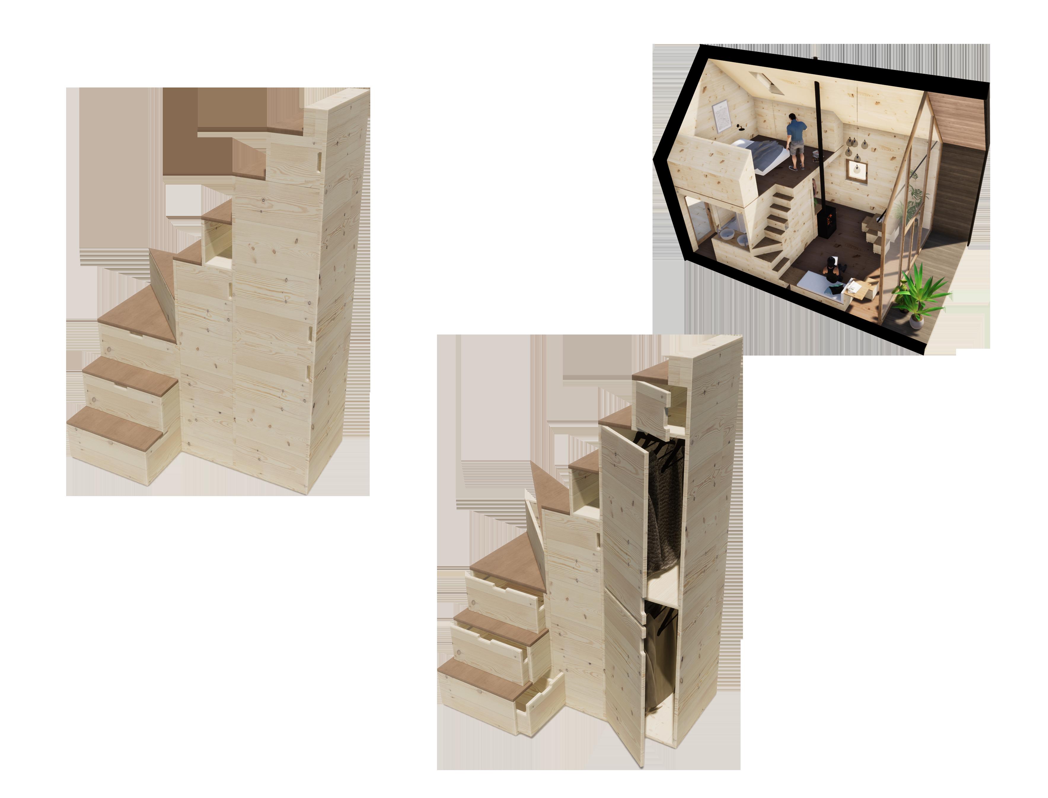 escalier D'johr ÜTE